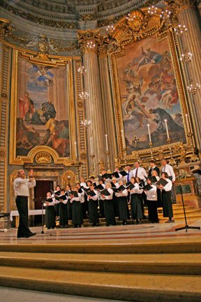 Encore Choral Group Performs in Europe